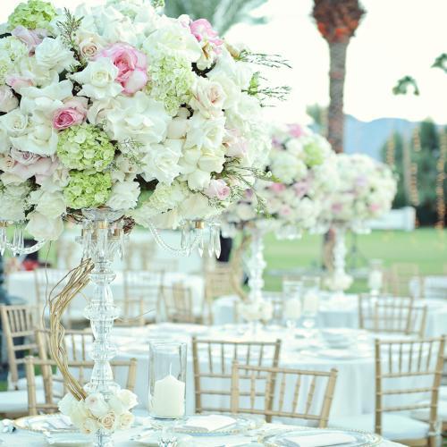 empire polo wedding centerpiece web