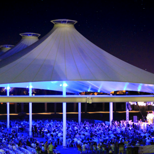 A Concert at the Indian Wells Tennis Garden Pavillion