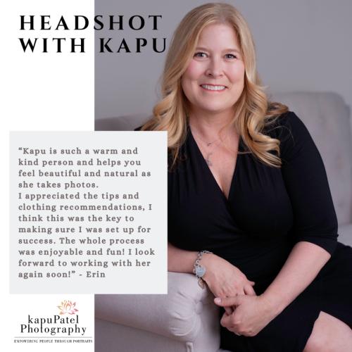 A headshot with Kapu Patel