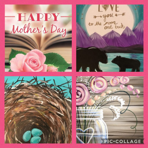 Saratoga Paint and Sip Mother's Day