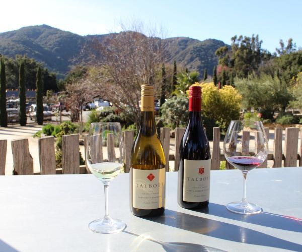 Talbott Vineyards Wine Bottles in Carmel Valley