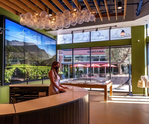 Napa Valley Welcome Center concierge