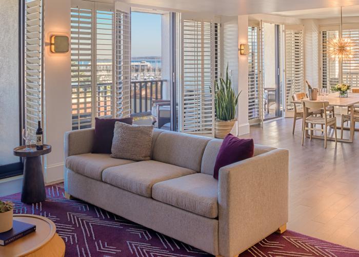 Portola Hotel Suite