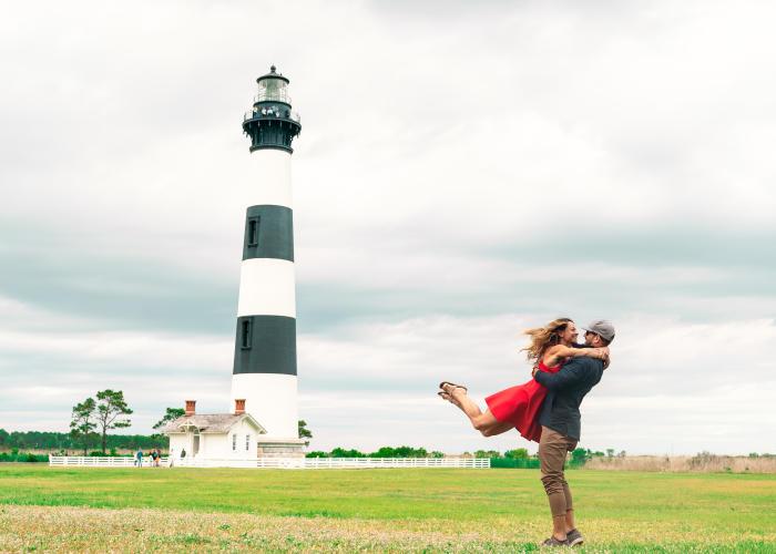 bodie island lighthouse wedding