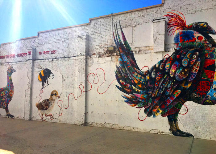 9 Urban Hotspots that Will Make You Fall in Love with Utah Valley - Wall Murals in Downtown Provo