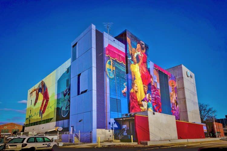 MLK Mural_We will not be satisfied