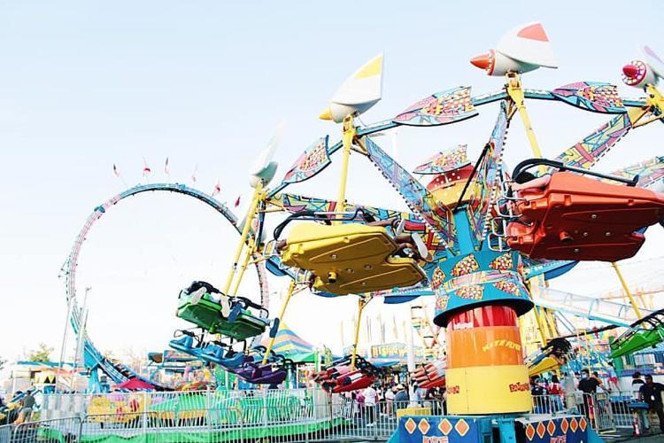 Fair Rides at LEAD State Fest Fair in Mercer County, NJ