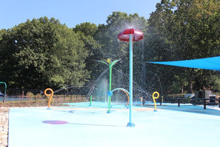Mercer County Park Splash Park