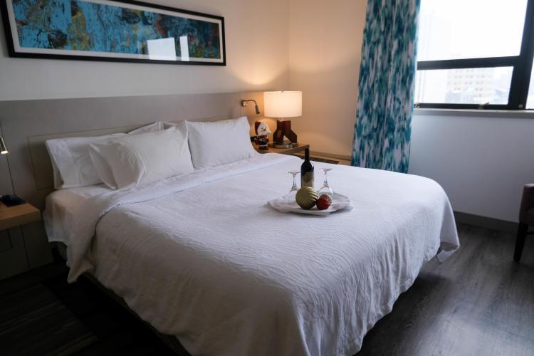 Hilton Garden Inn - xmas
