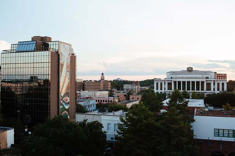 Downtown Lafayette - Aerial