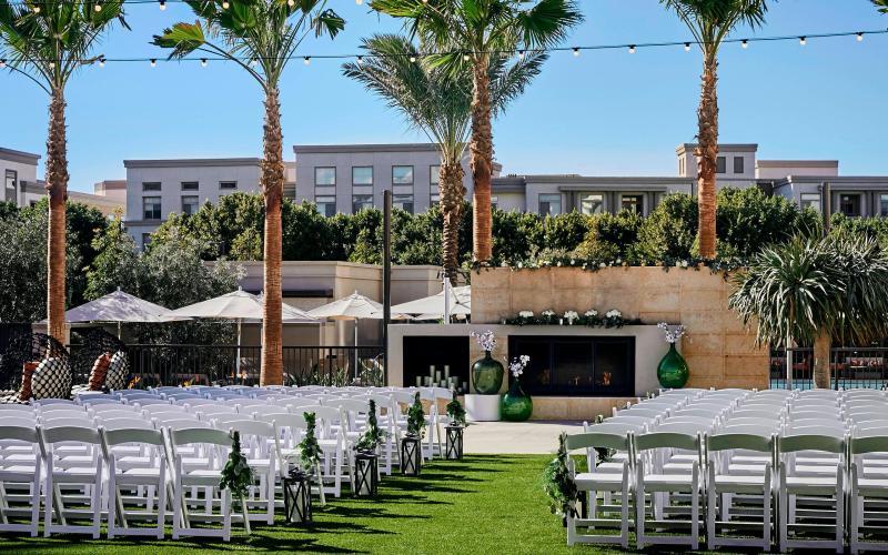 Marriott Irvine Spectrum Wedding Venue