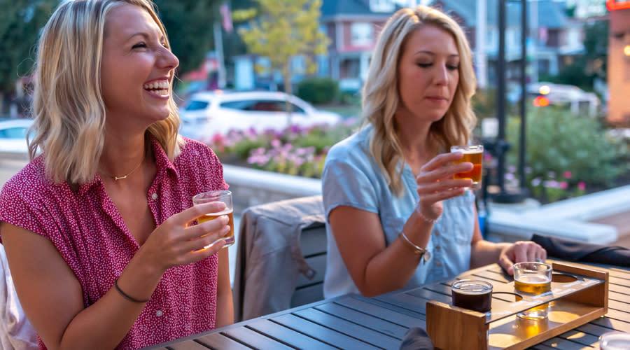 Iron Hill Brewery Tasting Flights