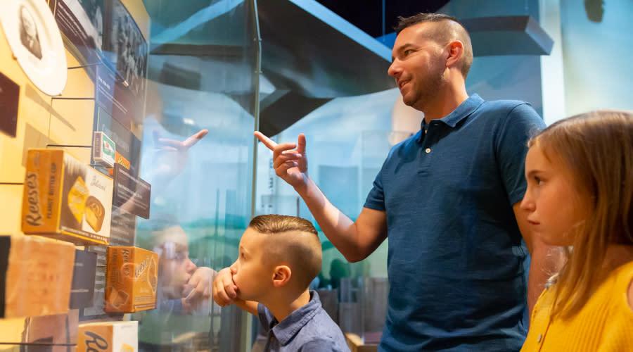 Hershey Story Museum Reeces Exhibit