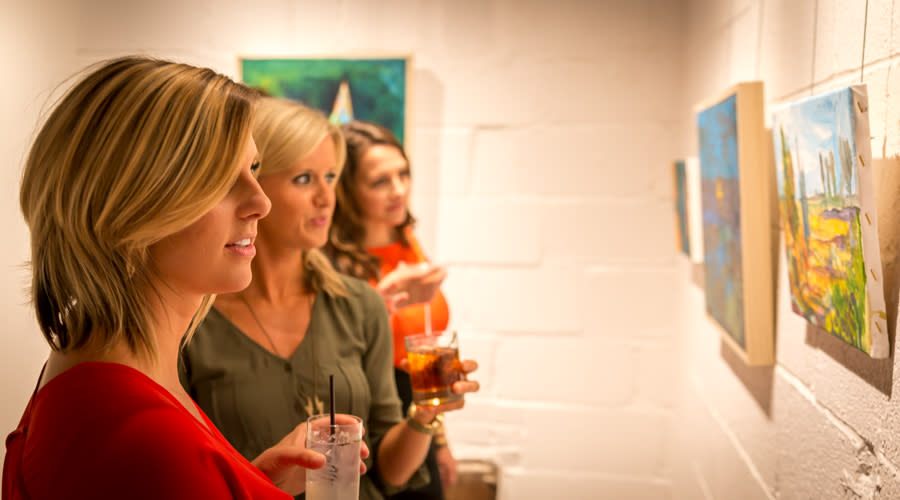 Millworks Art Gallery Girl's Night Out