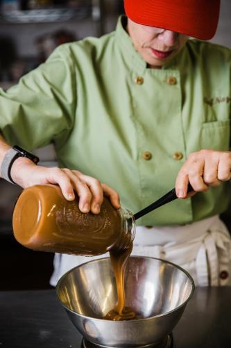 The Dessert Spot's Gooey Toffee Bars