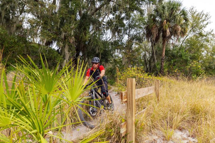 Alafia State Park Bike Trail