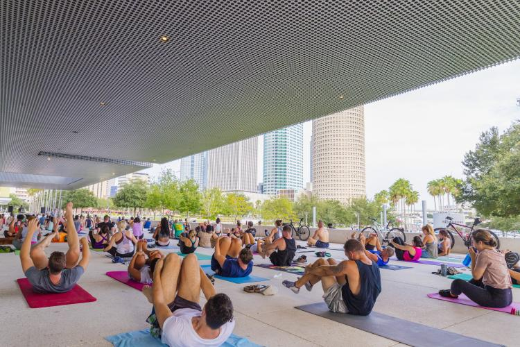 Curtis Hixon yoga classes