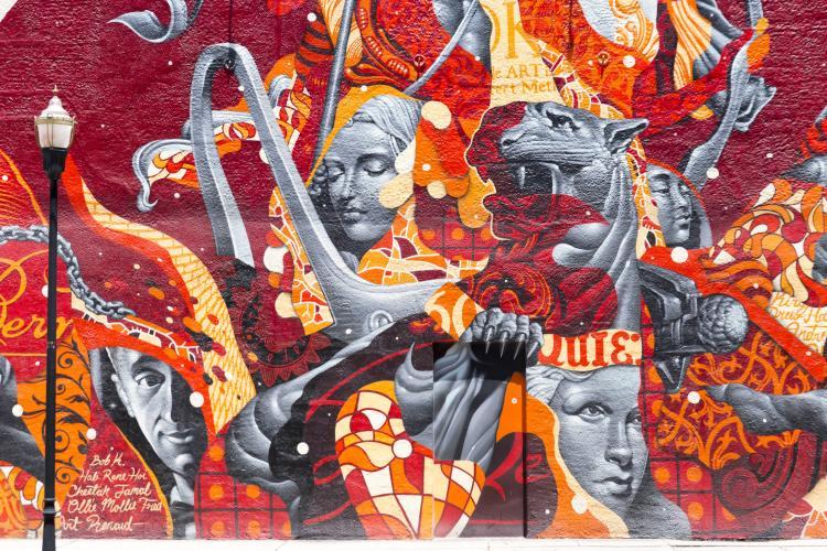 Evangeline's Feast Mural