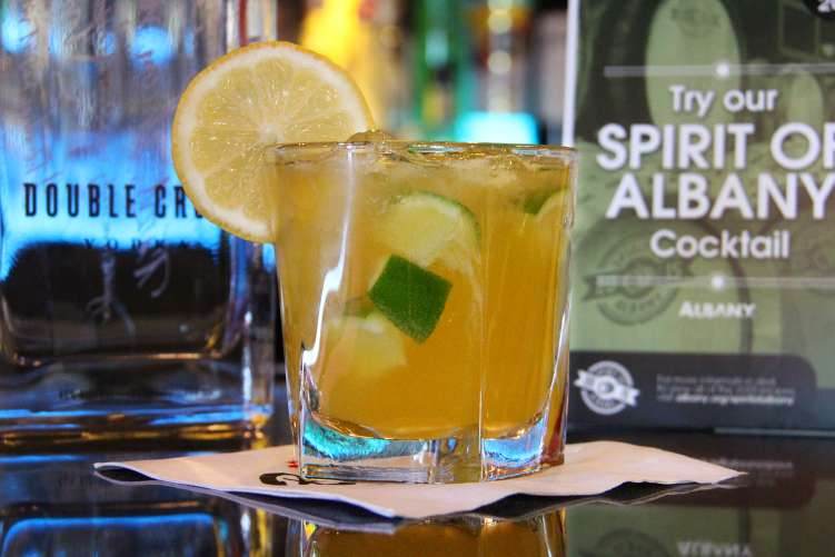Spirit of Albany cocktail