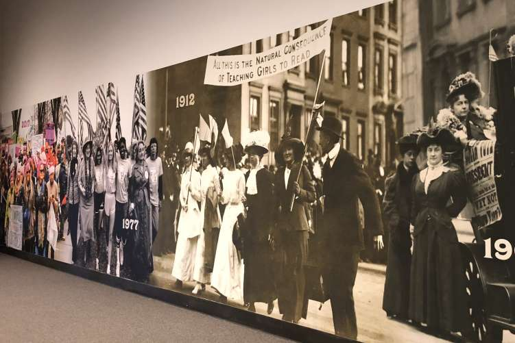 Women's Suffrage at NYS Museum
