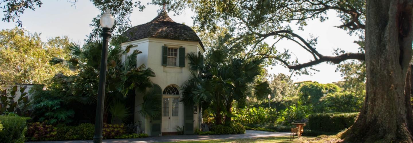 Unique building at plantation venue