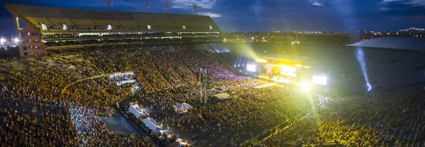 Bayou Country Superfest stadium concert