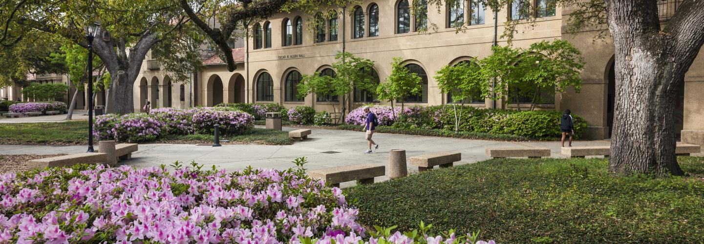 Photo of Oscar K. Allen Hall at LSU