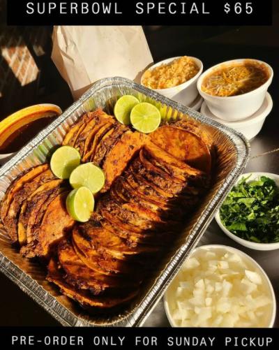 Tarahumaras Mexican Restaurant #2 Gameday Special