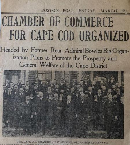 Cape Cod Chamber 100 Years