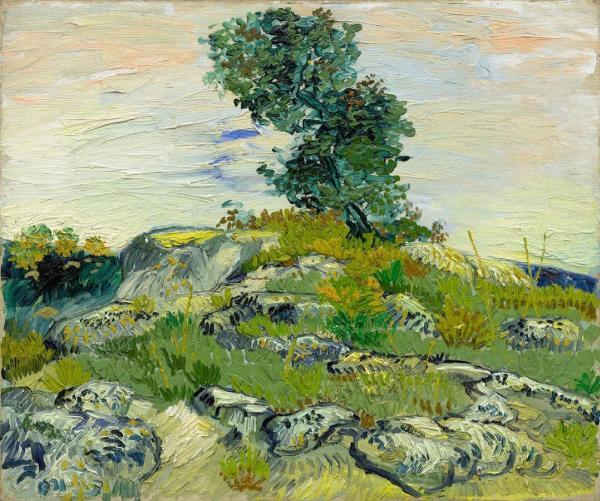 Van Gogh Painting At Hockney – Van Gogh: The Joy of Nature In Houston, TX