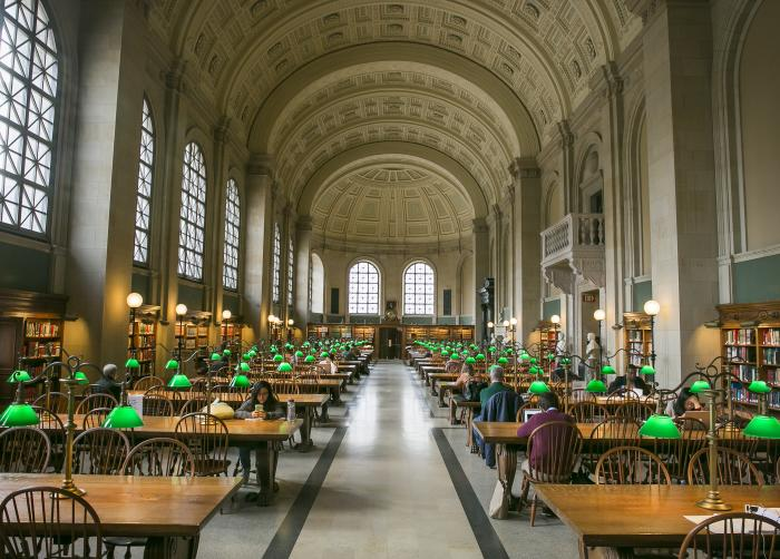 Boston Public Library Bates Hall