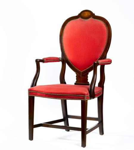 The President of the Senate's Chair.