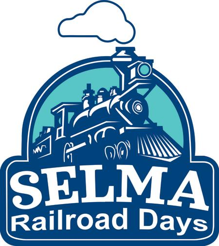 Selma Railroad Days official logo, Selma, NC.
