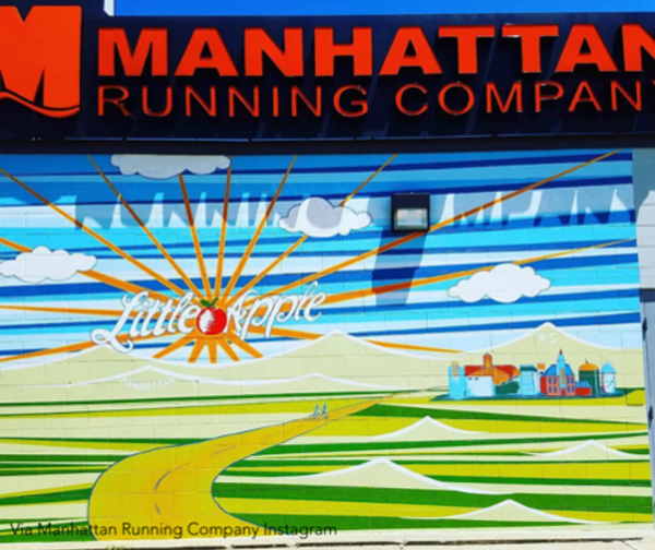 Manhattan Running Company Art Mural