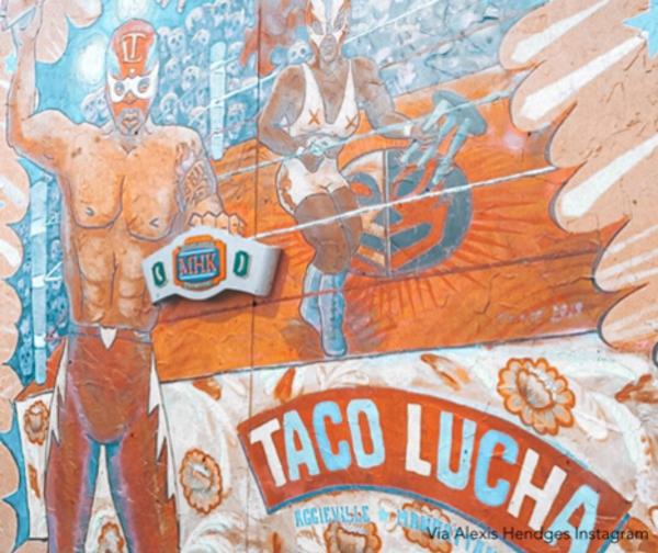 Taco Lucha Mural