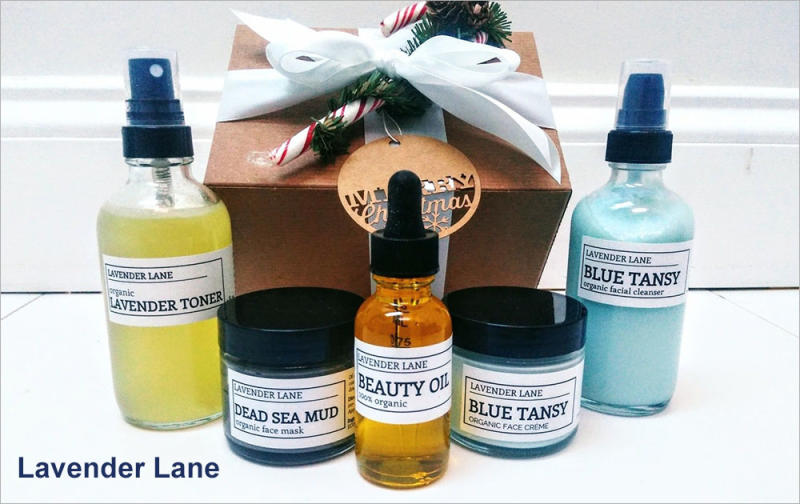 Lavender Lane organic beauty gift set