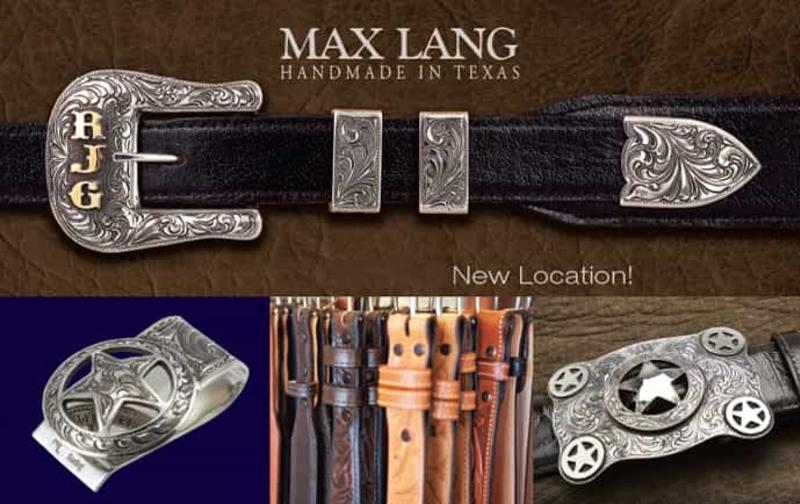Max Lang Belts and Buckles