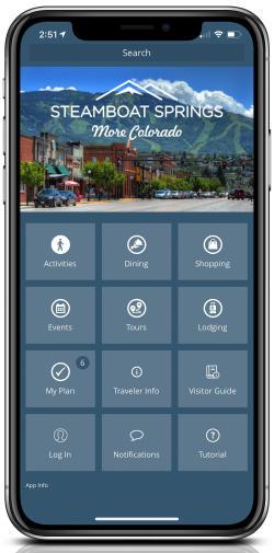 Interactive Trip Planner