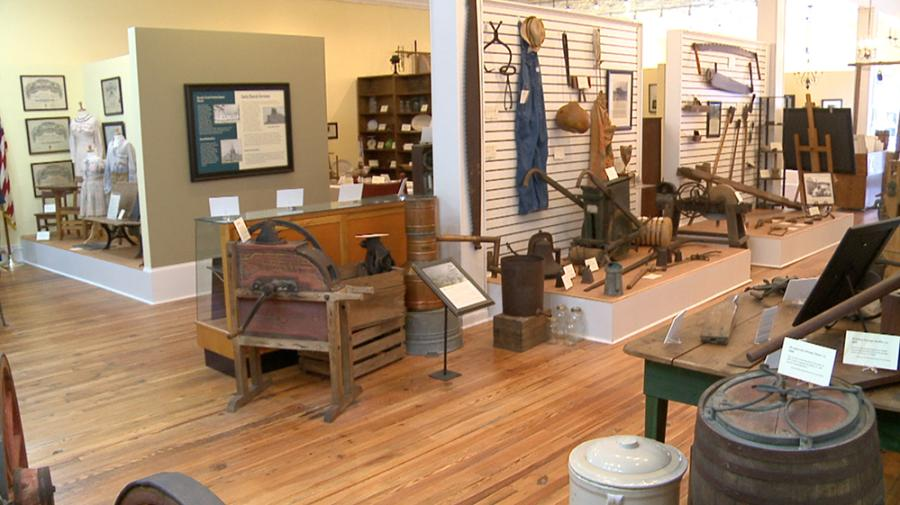 Learn about local farming practices at the Benson Museum of Local History, Benson NC.