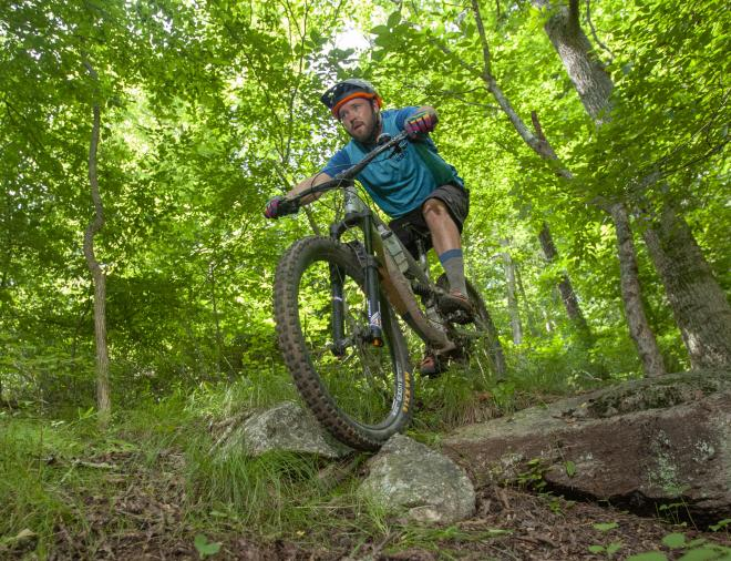 Explore Park - Mountain Biker