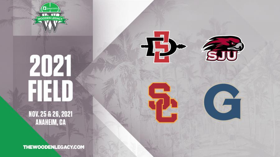 ESPN Field Announcement for the 2021 Wooden Legacy