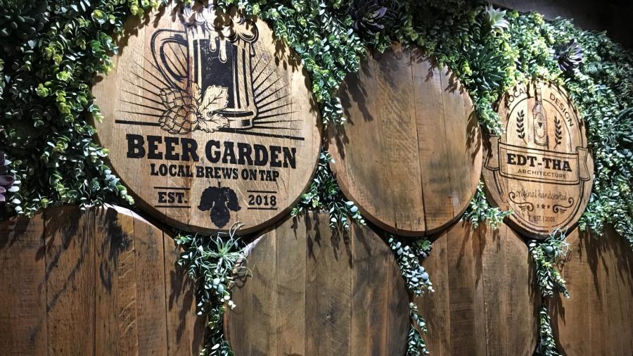Huntsville Beer Garden at Airport