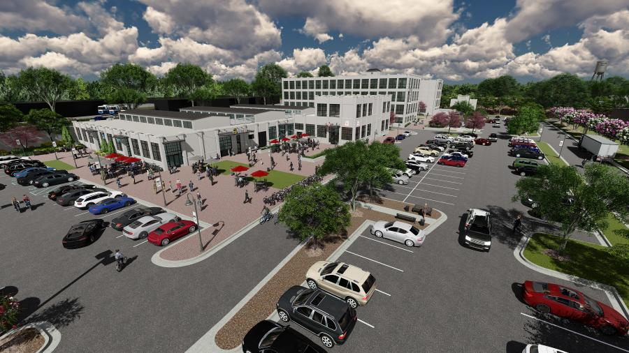 Lincoln Mill Rendering