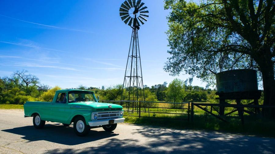 Truck windmill Paso Robles, CA