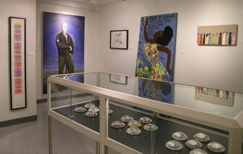 Art exhibit at the Kinsey Institute