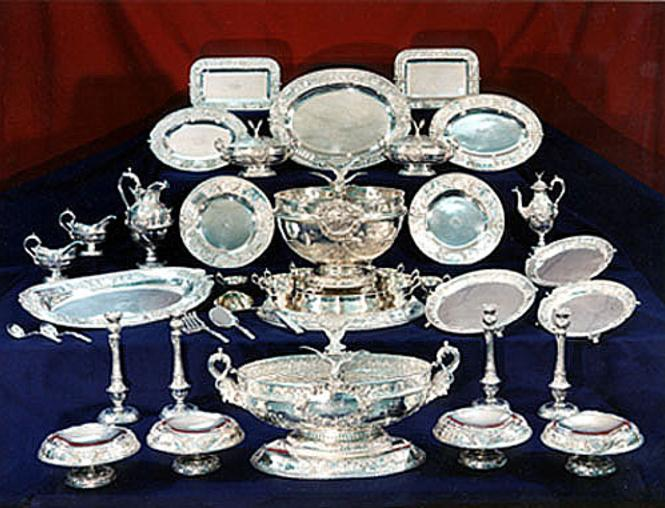 Maryland Silver Set by Samuel Kirk and the Sons of Baltimore.