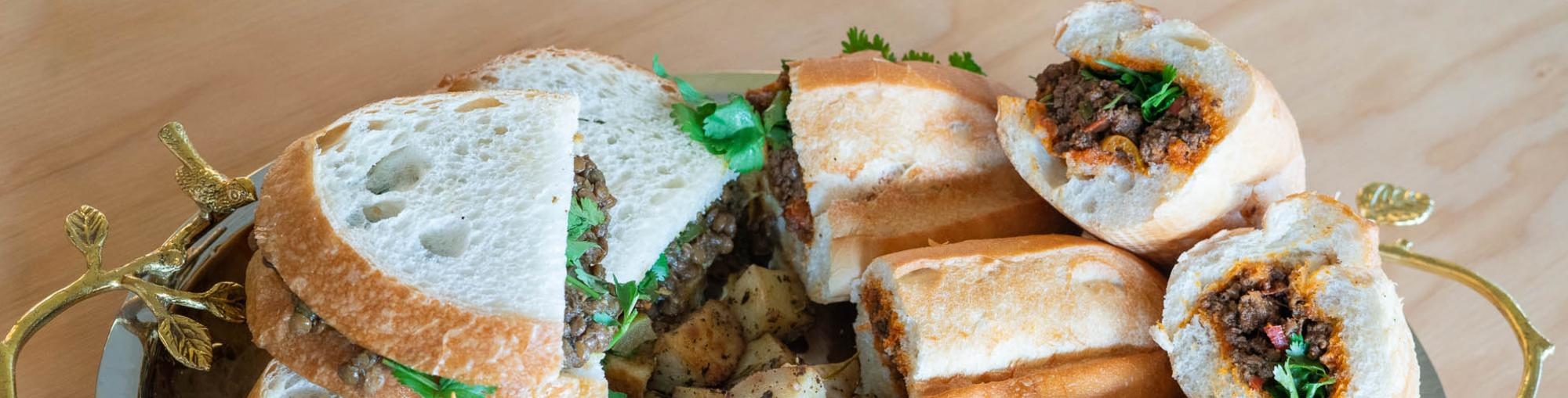 Sandwiches from Spice Bridge International Food Hall