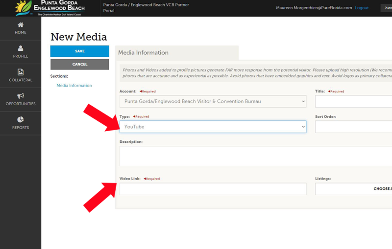 Adding Media to Your Account - Image 4