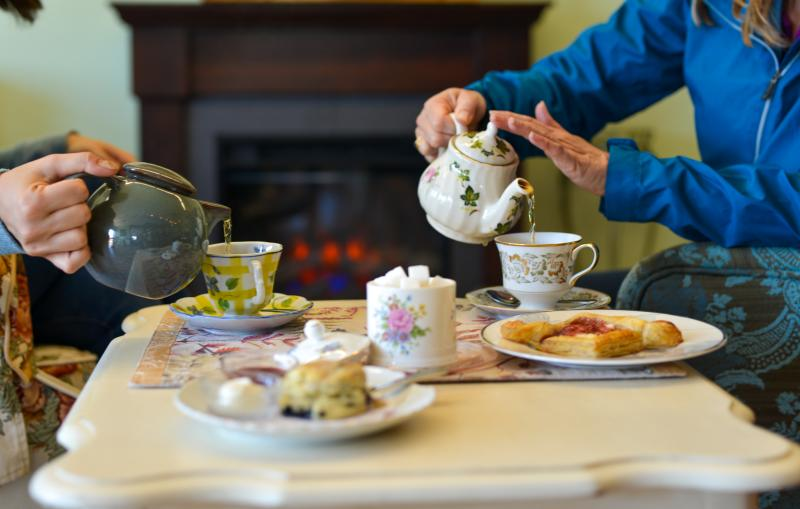 Tea at LoveJoy's  Restaurant & Tearoom in Historic Old Town Florence by Melanie Griffin