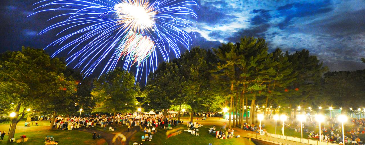 SPAC Fireworks Photo Courtesy of www.saratoga.org Saratoga County Chamber of Commerce